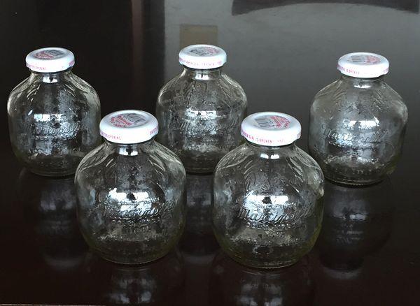 マルティネリ 空き瓶 5個セット 工作に /複数あり  _マルティネリ 空き瓶5個セット