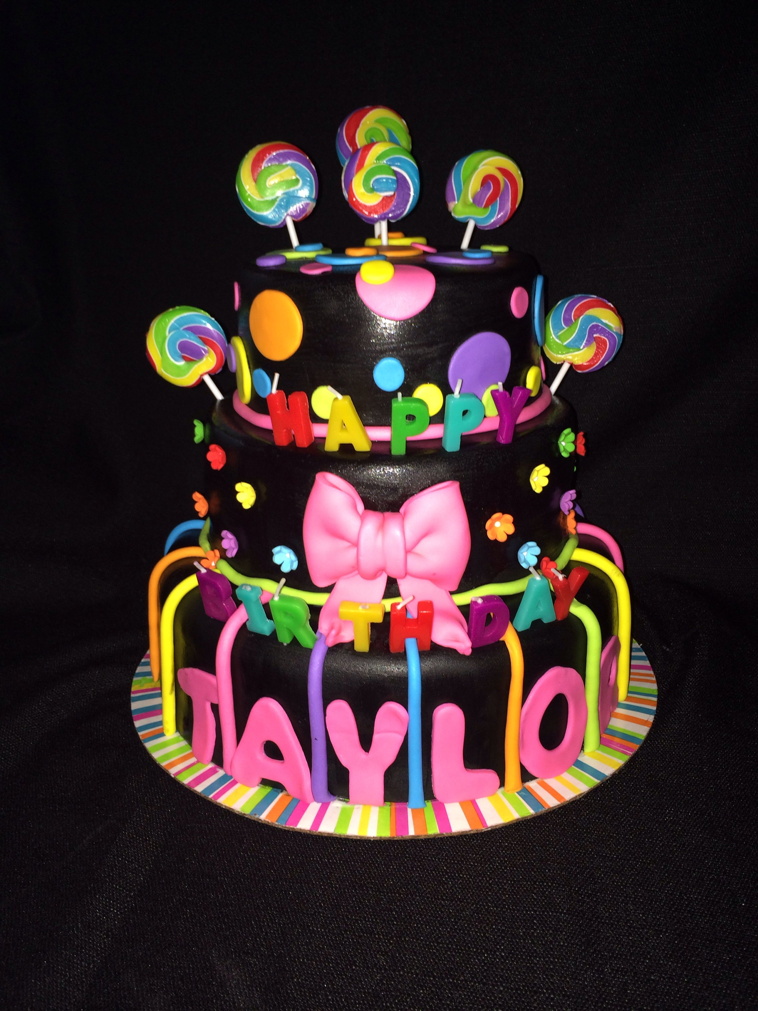 Terrific Glow In The Dark Birthday Cake Made By Tannicakes On Fb Golf Funny Birthday Cards Online Eattedamsfinfo