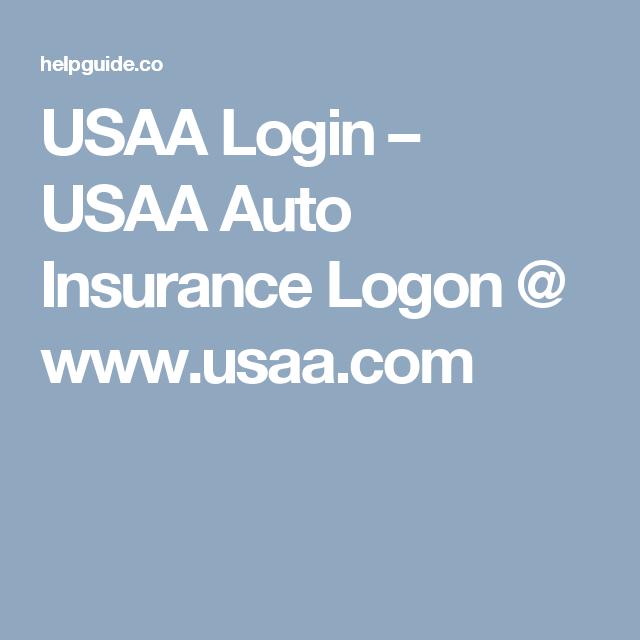 Usaa Login Usaa Auto Insurance Logon Www Usaa Com Car
