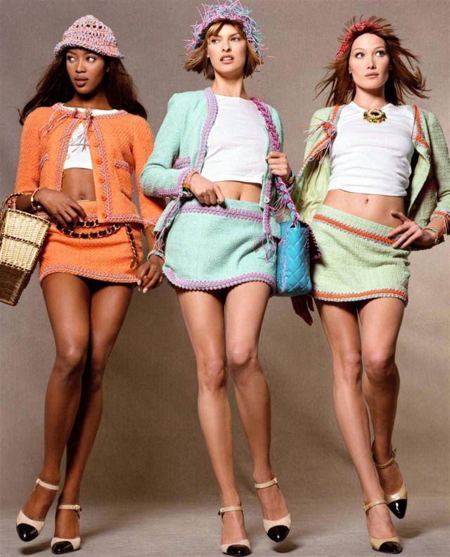 Moda de los años 80, Poses de moda, Moda de ropa