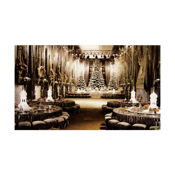 yule ball | Tumblr ❤ liked on Polyvore featuring harry potter, backgrounds, hogwarts, photos and pictures