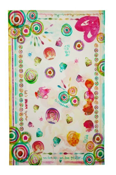 Summer Party Desigual tablecloth.
