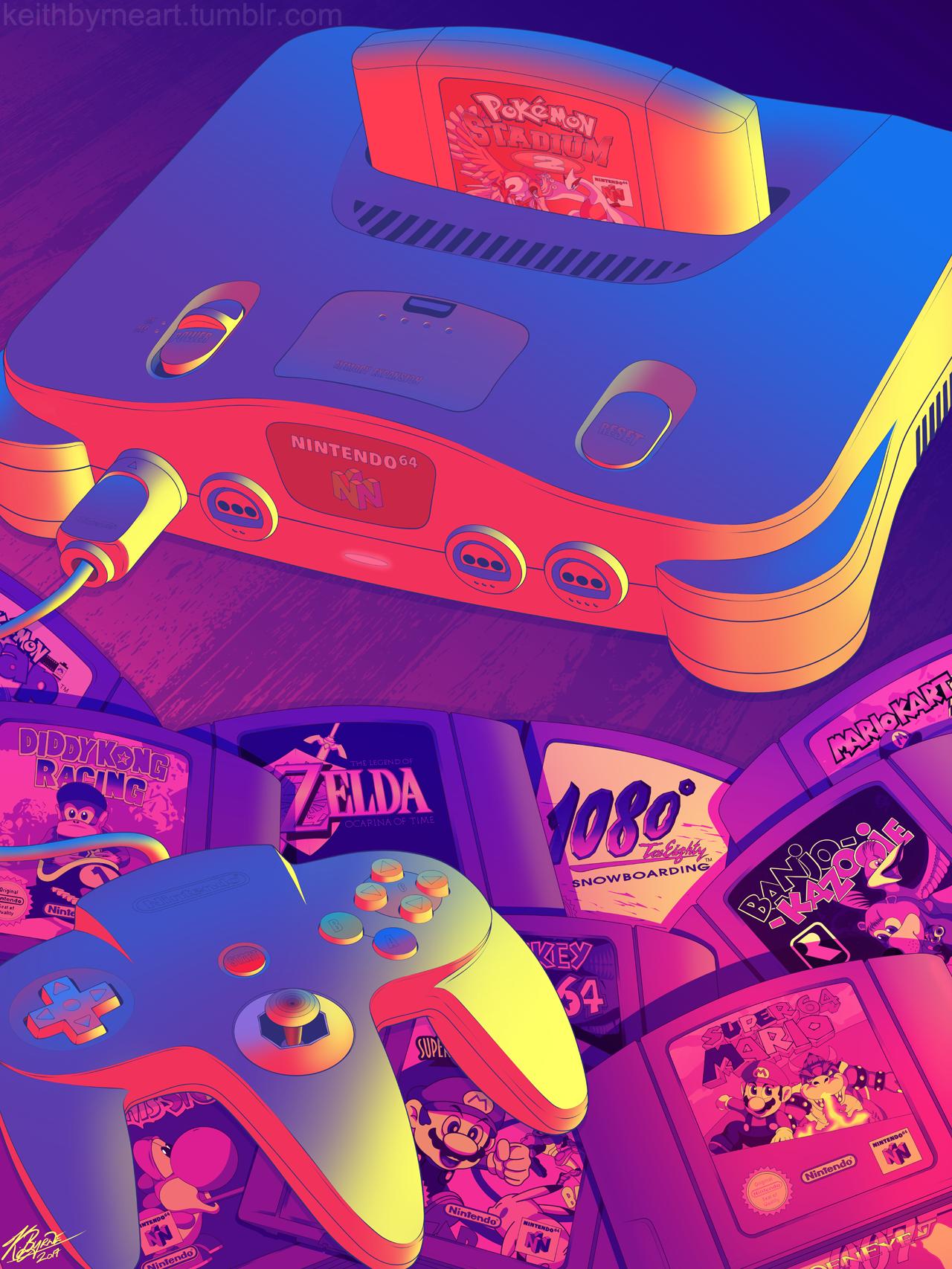 Keith Byrne Still Feeling Very Nostalgic Retro Gaming Art Retro Video Games Vaporwave