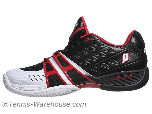 Prince T24 Black White Red Men S Shoes 99 00 Hoka Running Shoes Shoes Mens Shoes