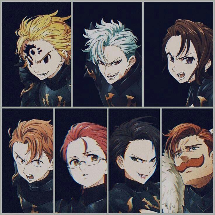 imagenes de los siete pecados capitales