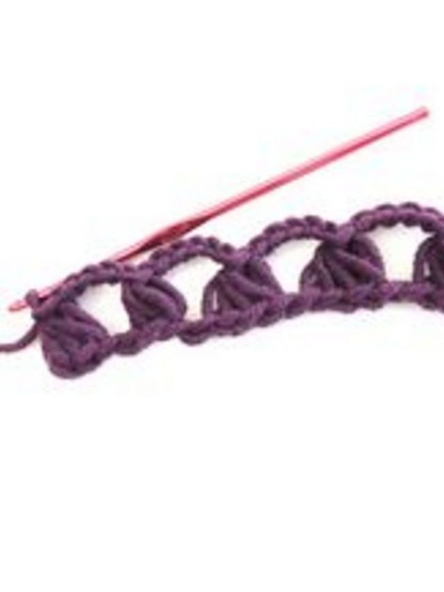 How to Crochet a Broomstick Lace Stitch | crafts | Pinterest | Palo ...