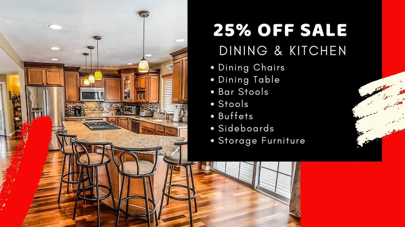 25 OFF Dining Essentials! Sale ends 9th March in 2020