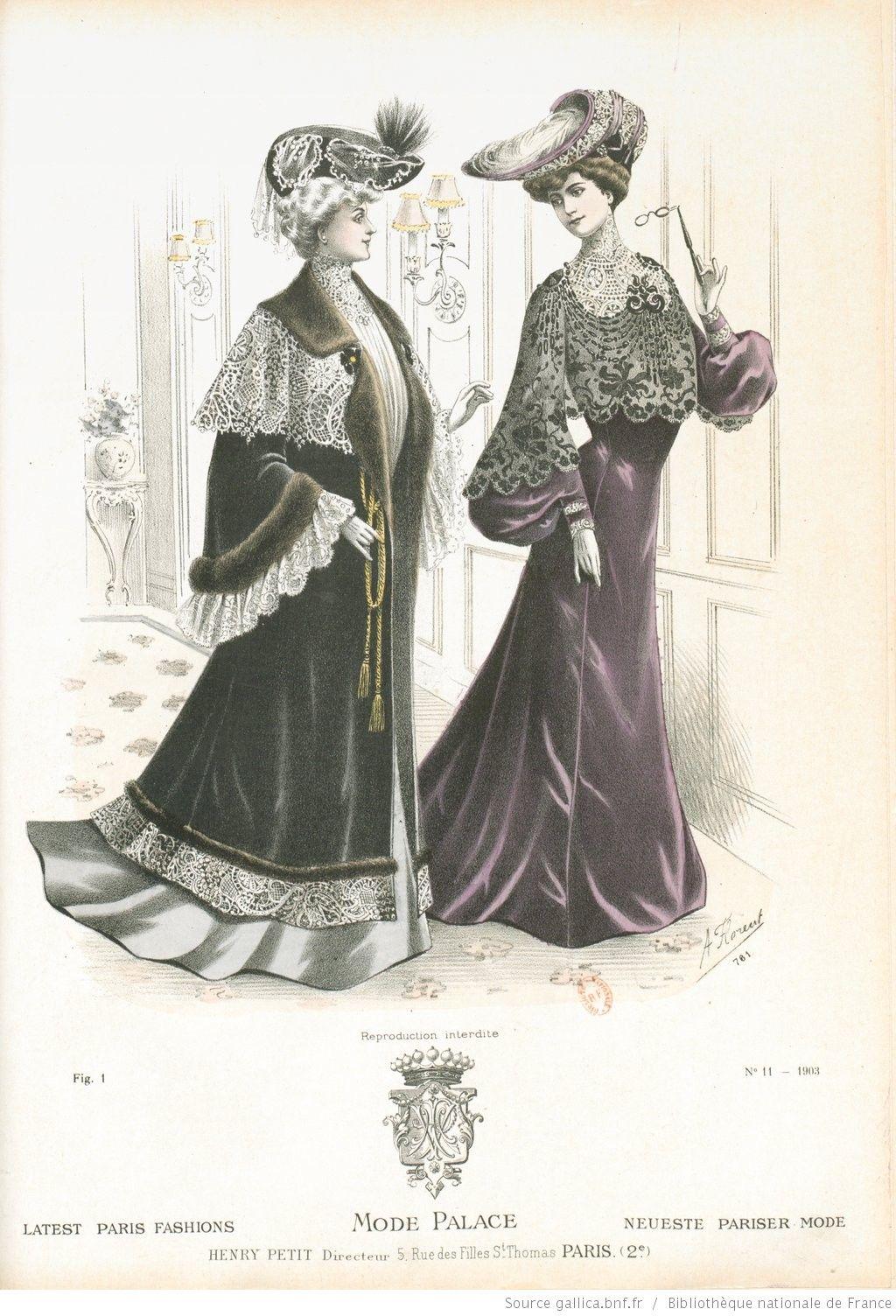 Mode-palace. Album mensuel des dernières créations parisiennes | 1903-11…