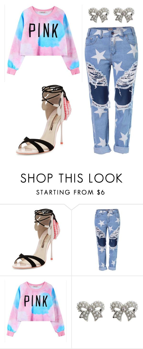 """""""Outfit Idea by Polyvore Remix"""" by polyvore-remix ❤ liked on Polyvore featuring moda, Sophia Webster, Chicnova Fashion, M&Co, women's clothing, women, female, woman, misses y juniors"""