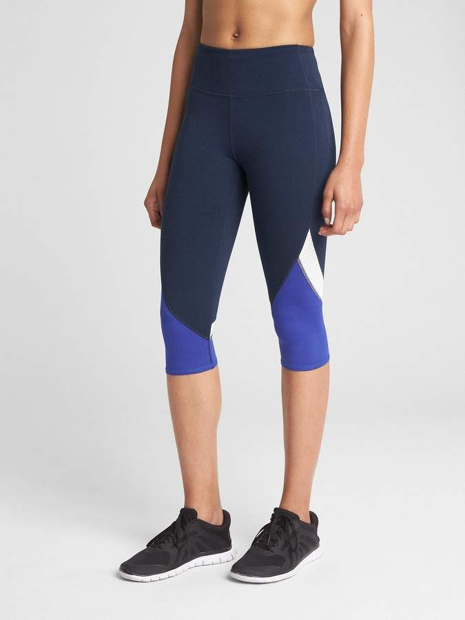3735f770330312 GFast Colorblock Crop Leggings in Eclipse in 2018 | Products ...