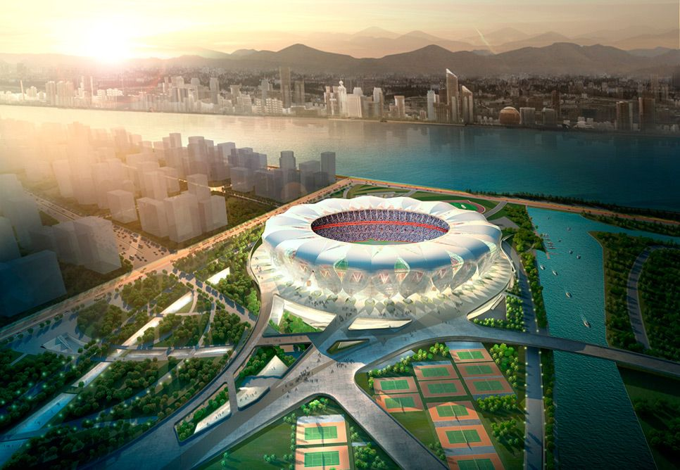 Hangzhou Olympic Sports Center Sports facility