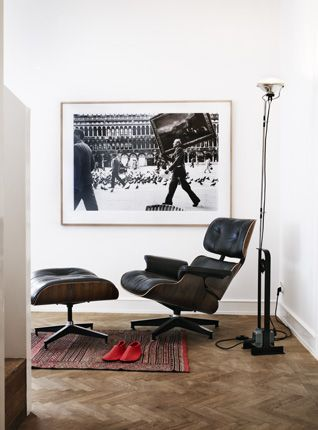 Toio Floor Lamp In Black Red Or White In 2020 Chair Design Eames Interior Design