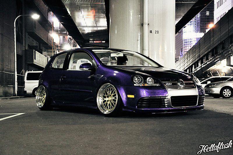 Purple People Eater VWGolfMk6 Volkswagen scirocco