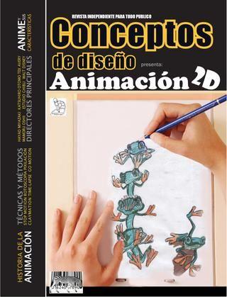 Revista Animacion 2d Animacion 2d Animacion Libro De Dibujo
