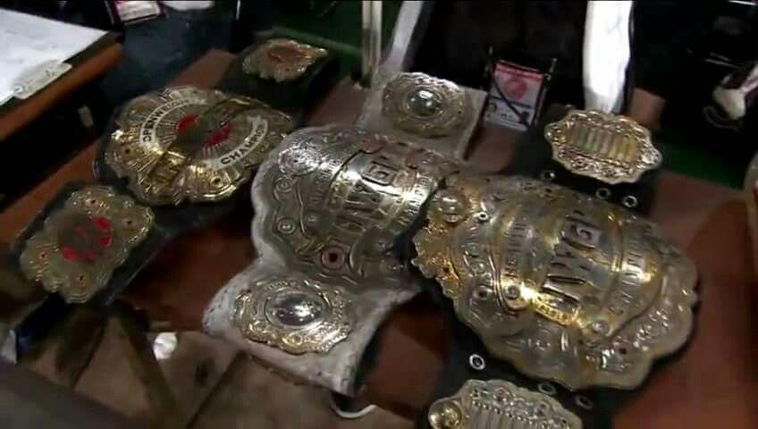 Image result for NJPW championships