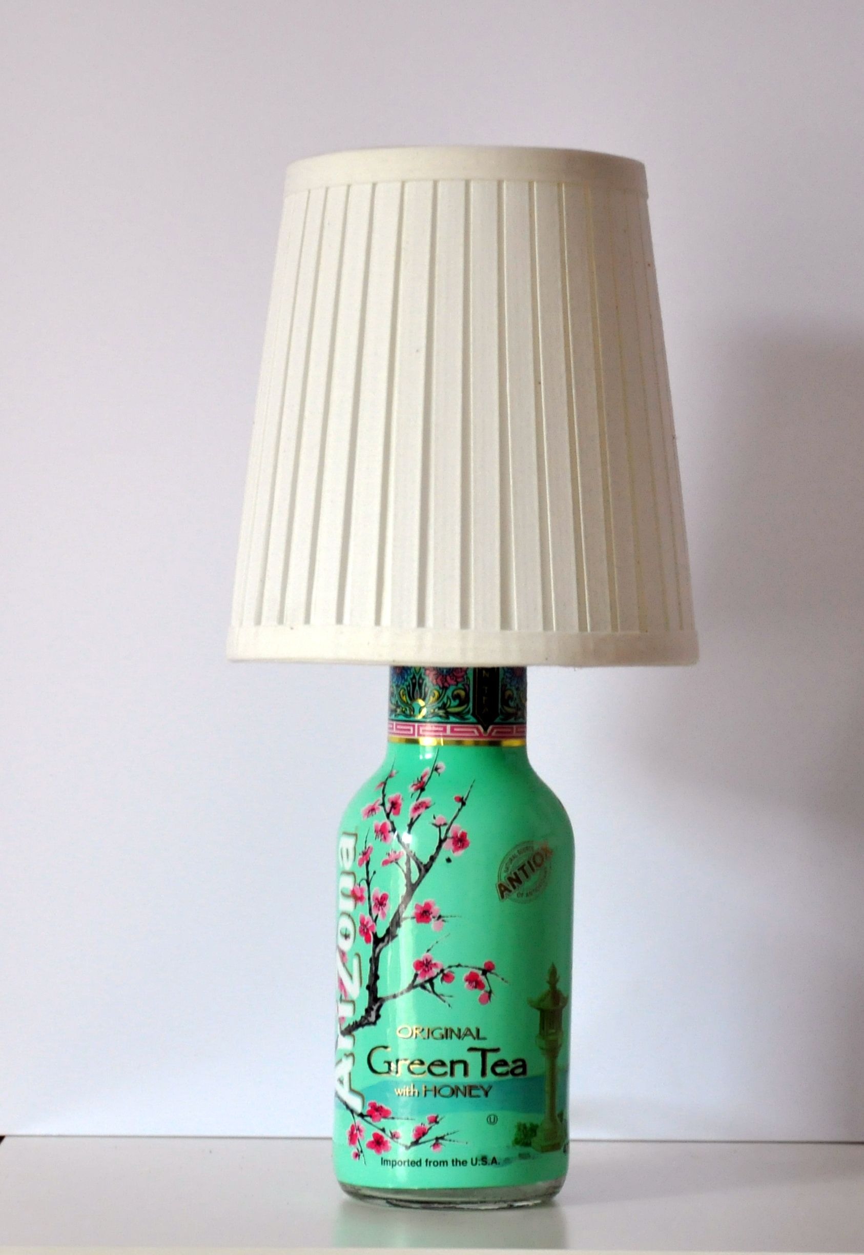 Green tea lamp | DIY | Pinterest | Teas, Upcycling and Crafty for Diy Plastic Bottle Lamp  103wja