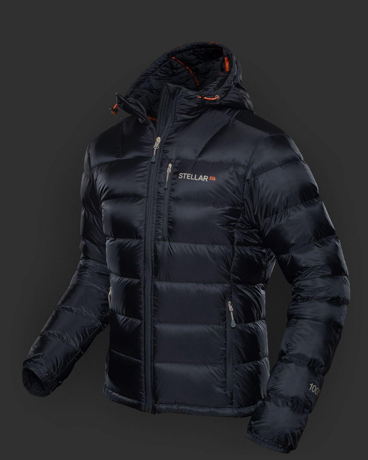 Men S Ultralight Down Hood Blublack Stellar Equipment Hood Ultralight Winter Jackets