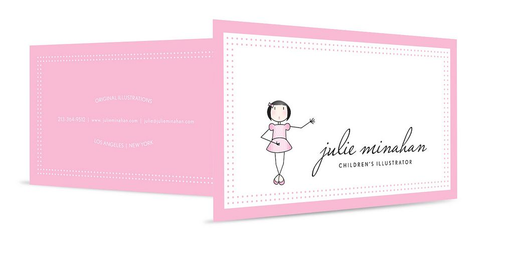 Logo Illustration and Business Card for Photographer