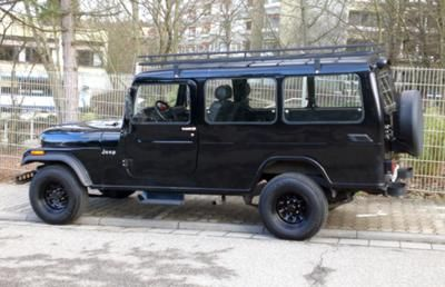 1989 Cj8 Overlander Rebody By Ssangyong Korando Willys Jeep
