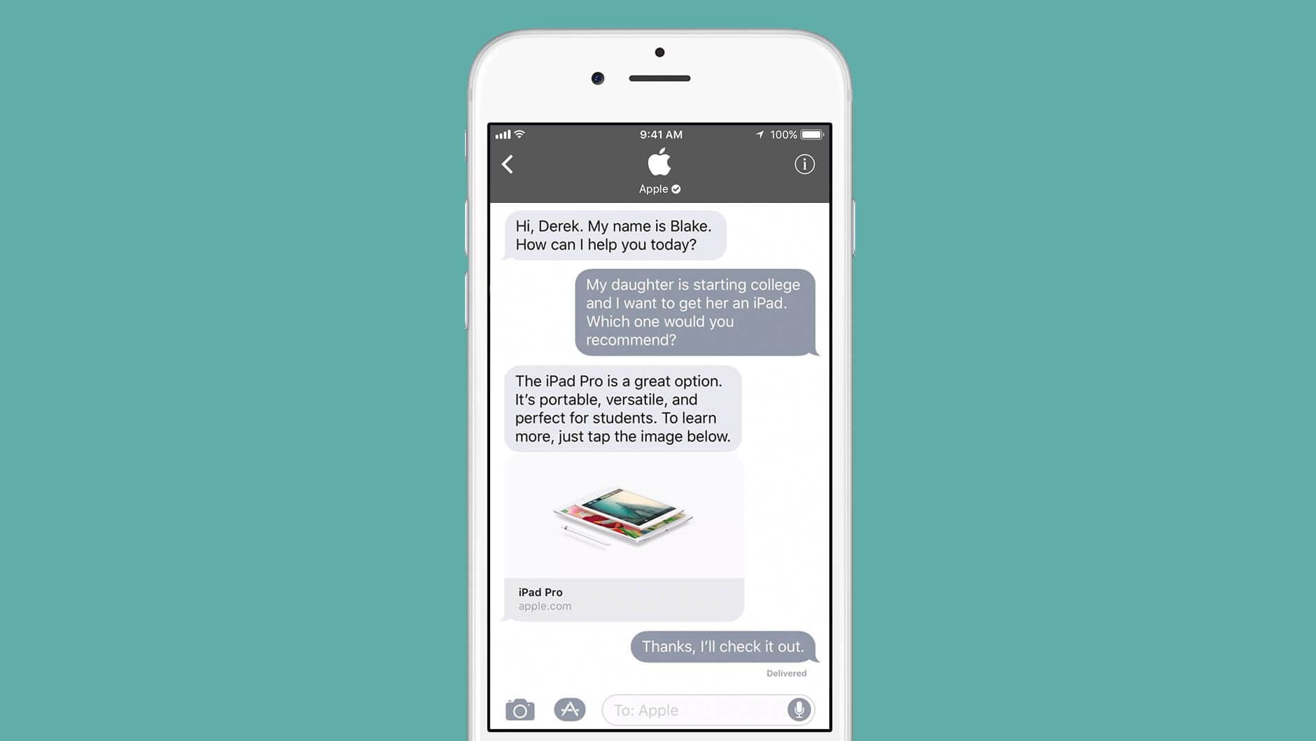 Apple To Take On Messaging Rivals Preparing To Present A Brand New Function In Imessage That Will Enable Customers T Apple Business Chat App Mobile Marketing