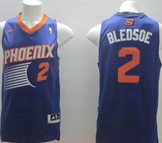 b7724fcd0 Revolution 30 Phoenix Suns  2 Eric Bledsoe Purple Stitched NBA Jersey
