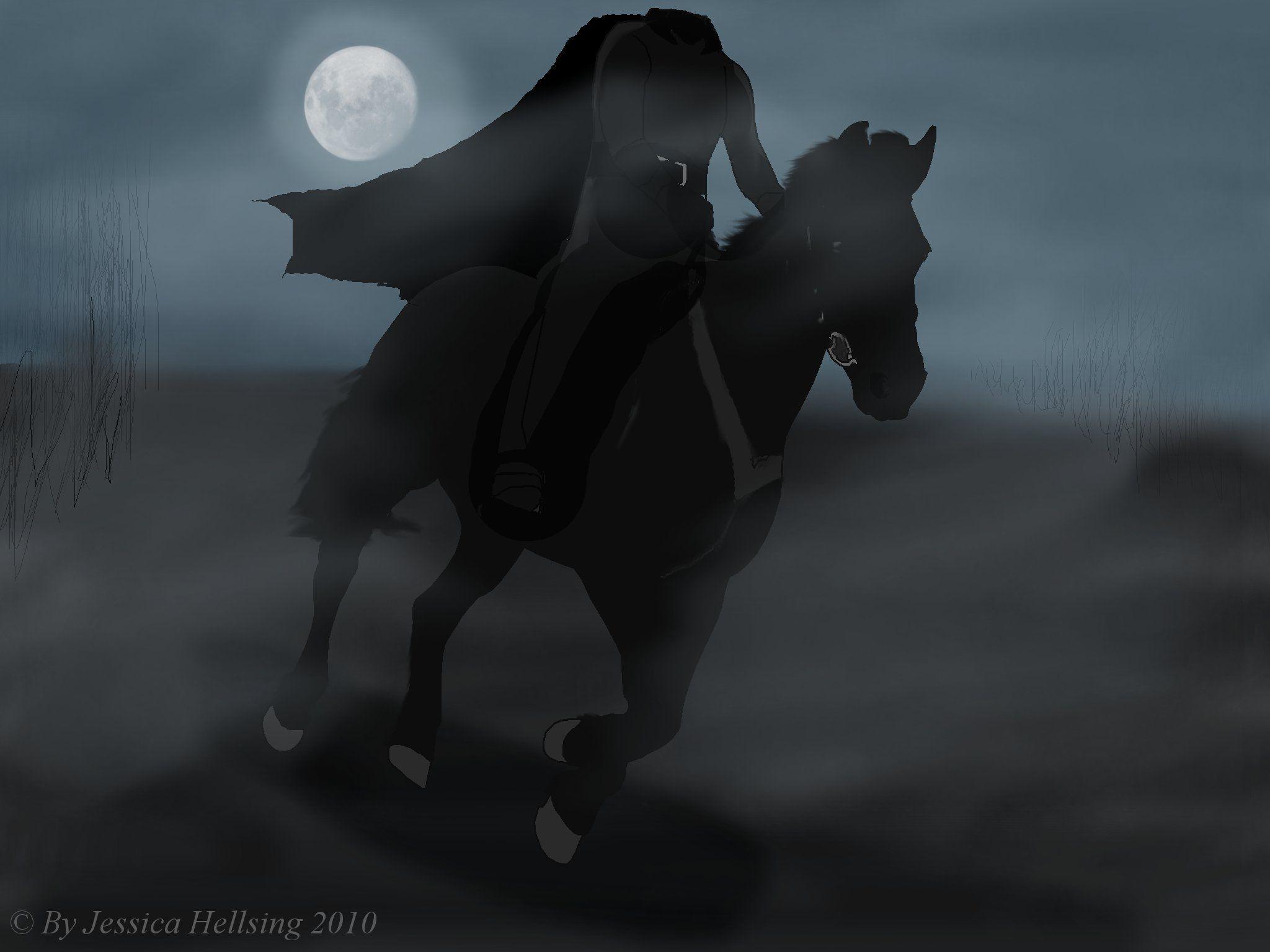 Headless Horseman Wallpapers Headless Horseman Legend Of Sleepy Hollow Portrait