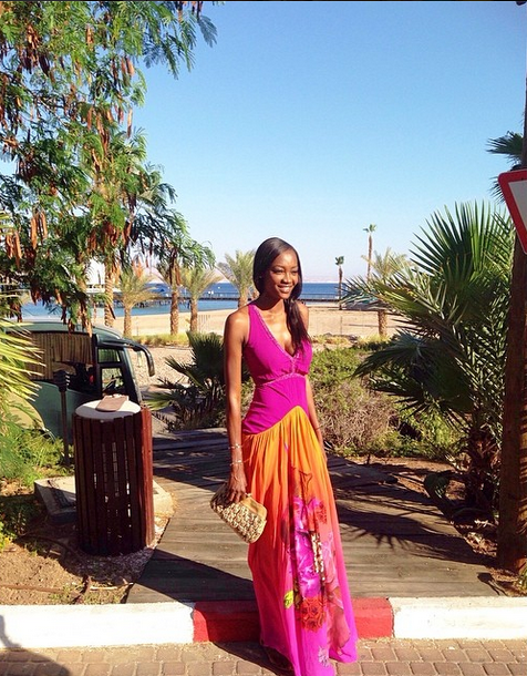 Who Wears What N Where: Out & About Oluchi Orlando