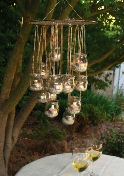 Garden Design Pictures Chandelier Diy Garden Ideasinmachgläser Fascinating Pinterest Gardens Ideas Pict