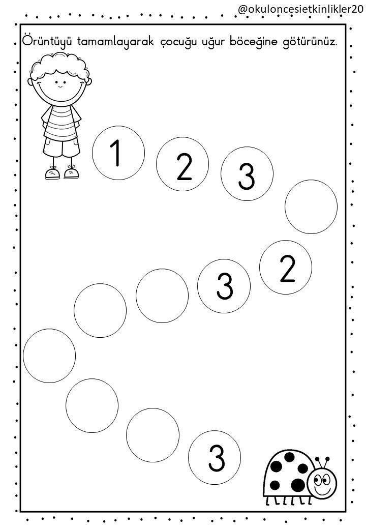 Pin Von Barbara Mayer Auf Vorschulblätter Math Education Und Math