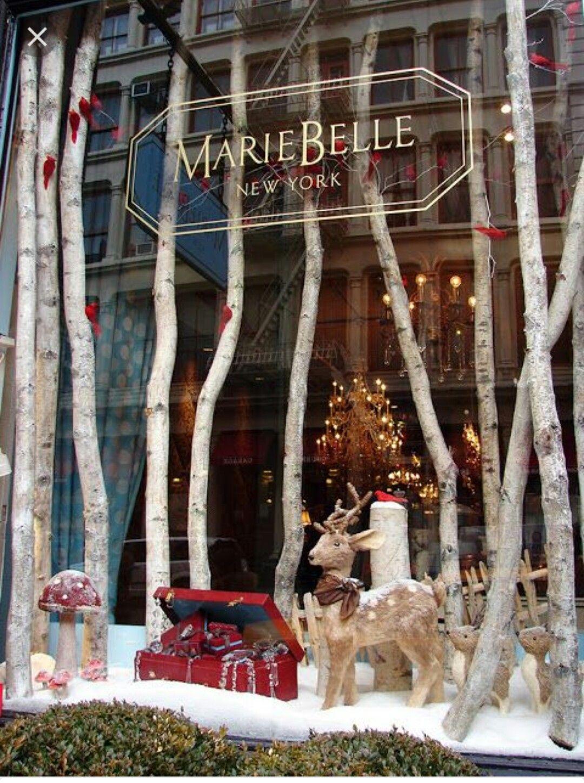 Pin u ivatele rka dlouh na n st nce windows displays schaufenster schaufensterdekoration a - Schaufensterdekoration weihnachten ...