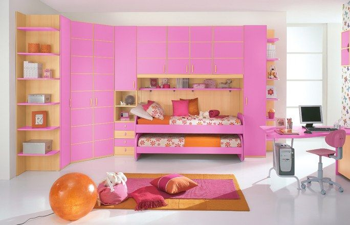 Camerette per bambini: Key rosa di Mondo Convenienza - Camerette ...