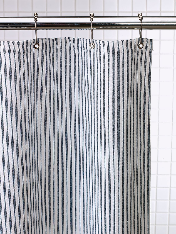 Cotton Duck Shower Curtain In 2 Sizes Duck Shower Curtain