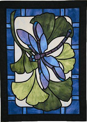 Dragonfly Paradise Quilt Pattern - The Virginia Quilter