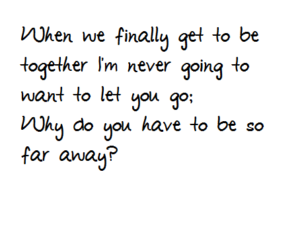 Tumblr quotes long distance relationship