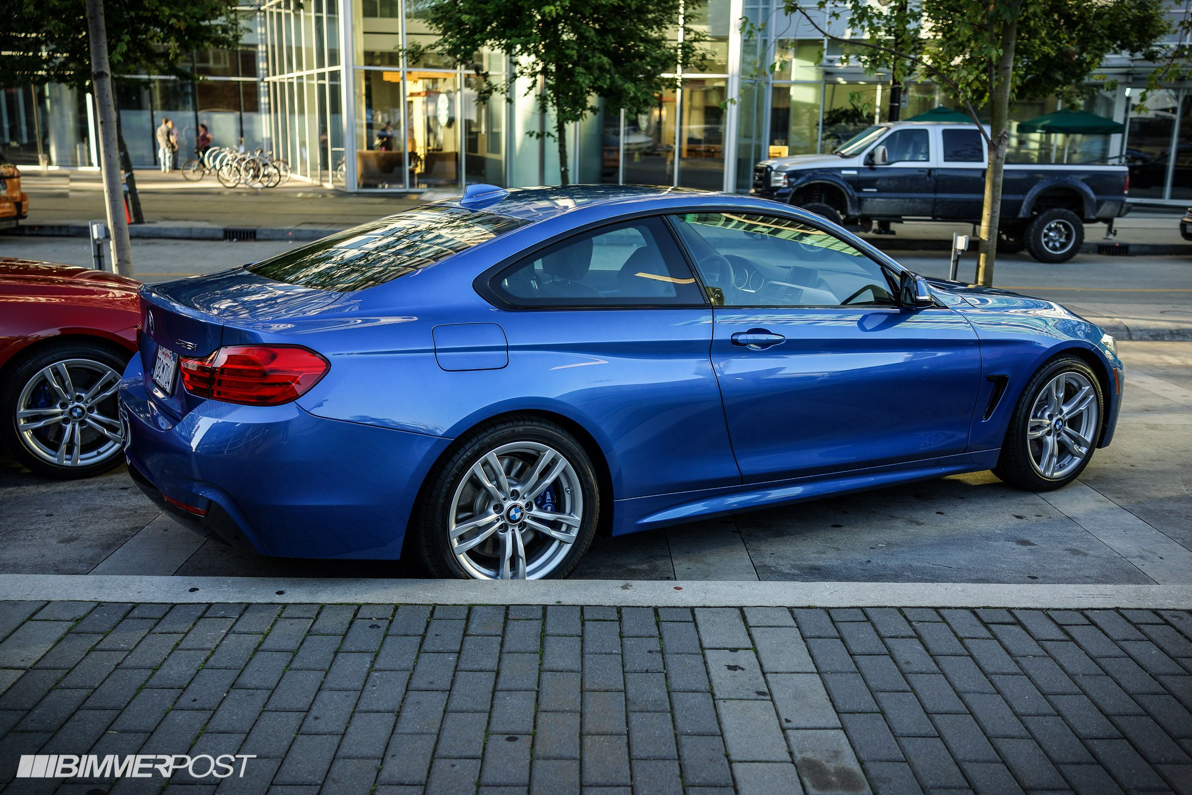 Bmw Na Launch Event 428i In Estoril Blue And Black And Walkaround Video Compilation Bmw Estoril Blue Bmw Series
