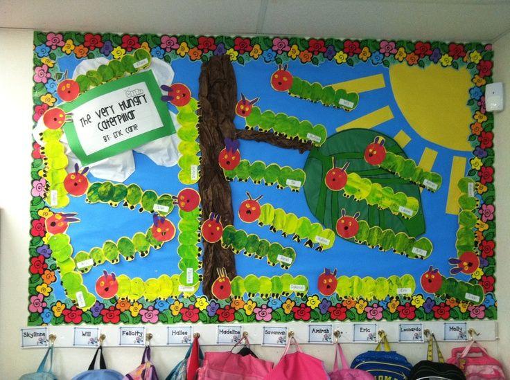 Classroom Decoration Ideas For Grade 5 ~ Pin by brianna scott on auction caterpillar bulletin
