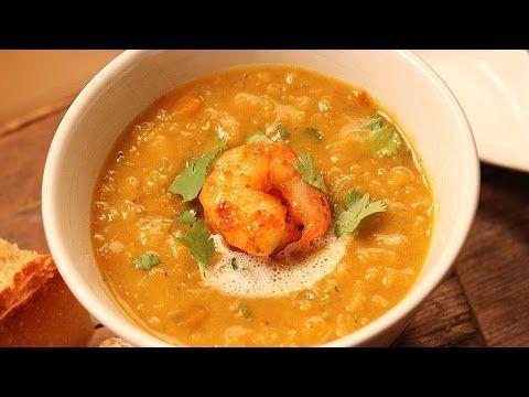 Soupe indienne Dhal au lait de coco - Recettes Funky avec Max L'Affamé - YouTube