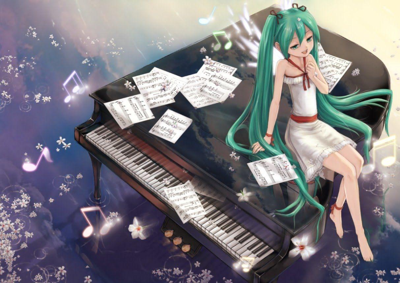 ♬1 Hora ♬ Música de Anime en Piano - Música Bella y Epica