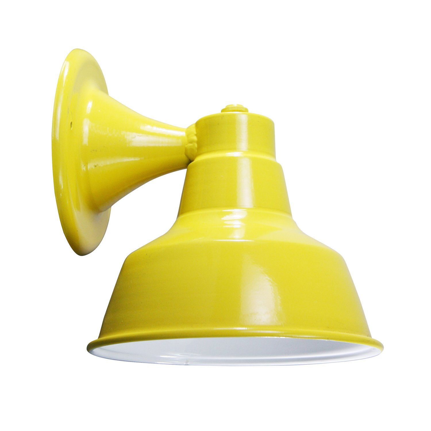 Wall Sconces Kitchen: Fun Bright Yellow Wall Sconce