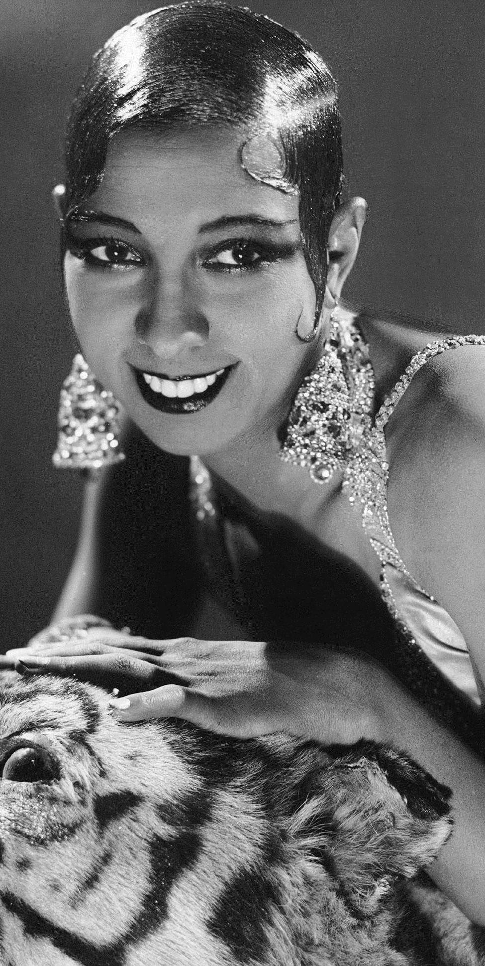 Josephine Baker 1920 S Josephine Baker Vintage Black Glamour