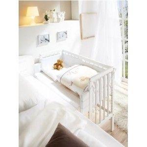 Biale Lozeczko Dostawne Dostawka Do Lozka Rodzicow 5194400983 Oficjalne Archiwum Allegro Toddler Bed Bed Furniture