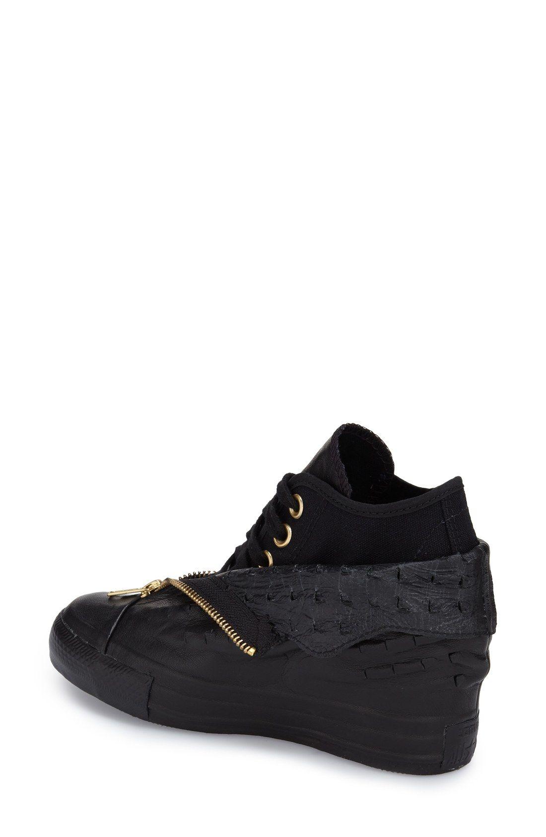 811e85dd41d1 Converse Chuck Taylor® All Star®  Lux Shroud  High Top Wedge Sneaker (Women)
