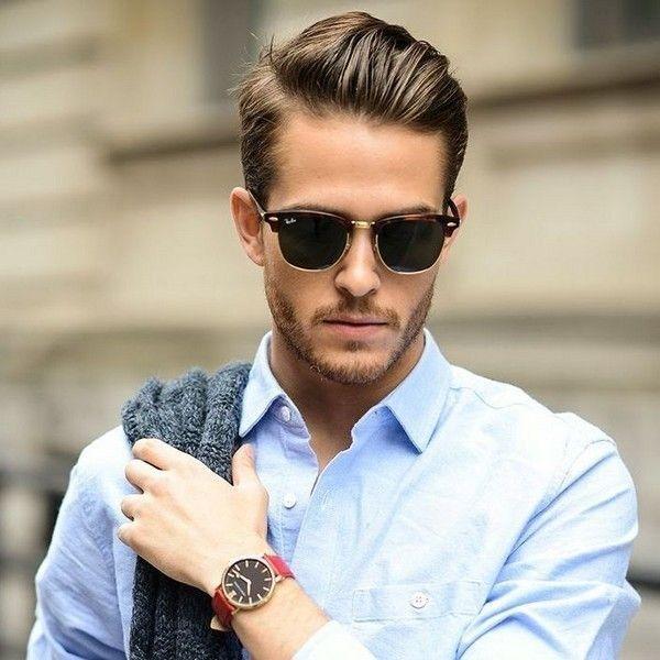 Трендовые мужские солнечные очки 2019-2020 года  лучшие модели, новинки,  фото   Мода, стиль, имидж, образы   Pinterest   Стрижка, Волосы средней  длины и ... 1bdbb3a46f7