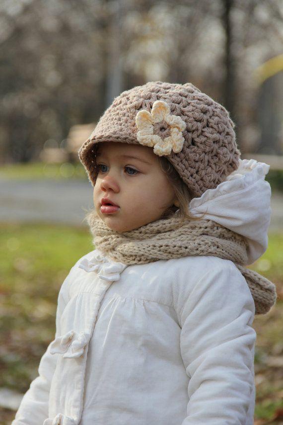Gehaakt babymutsje kinderen hoed haak van JuneBugBeanies op Etsy