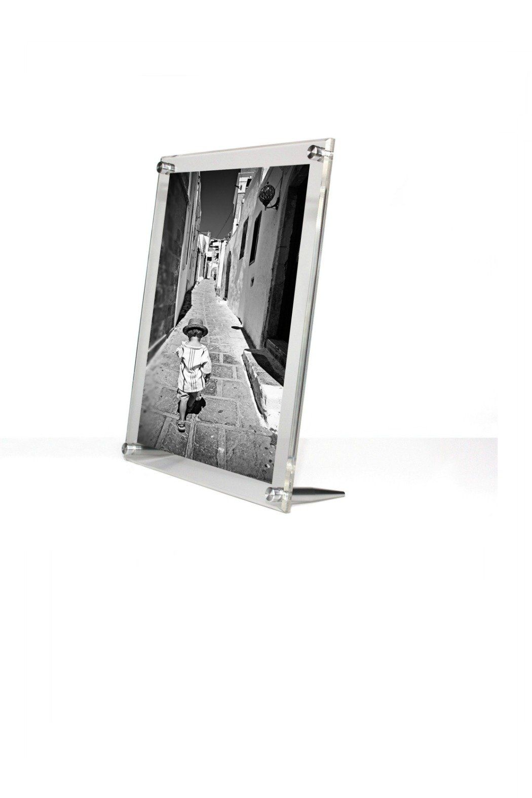 Acrylic Bevel Float Frame 8x10 Wall Frames Frame Floating