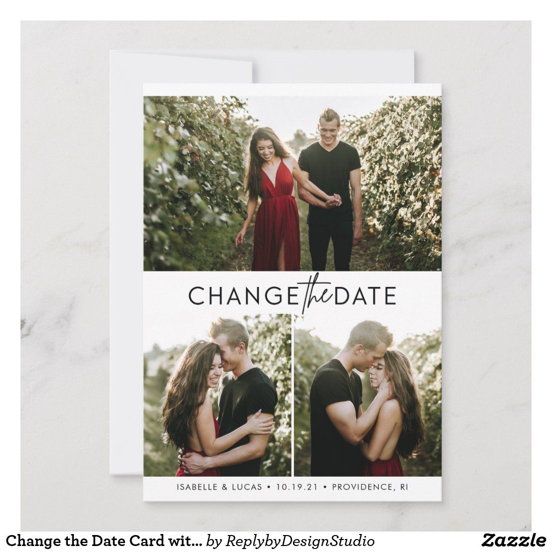 Change the date card with photos in 2020