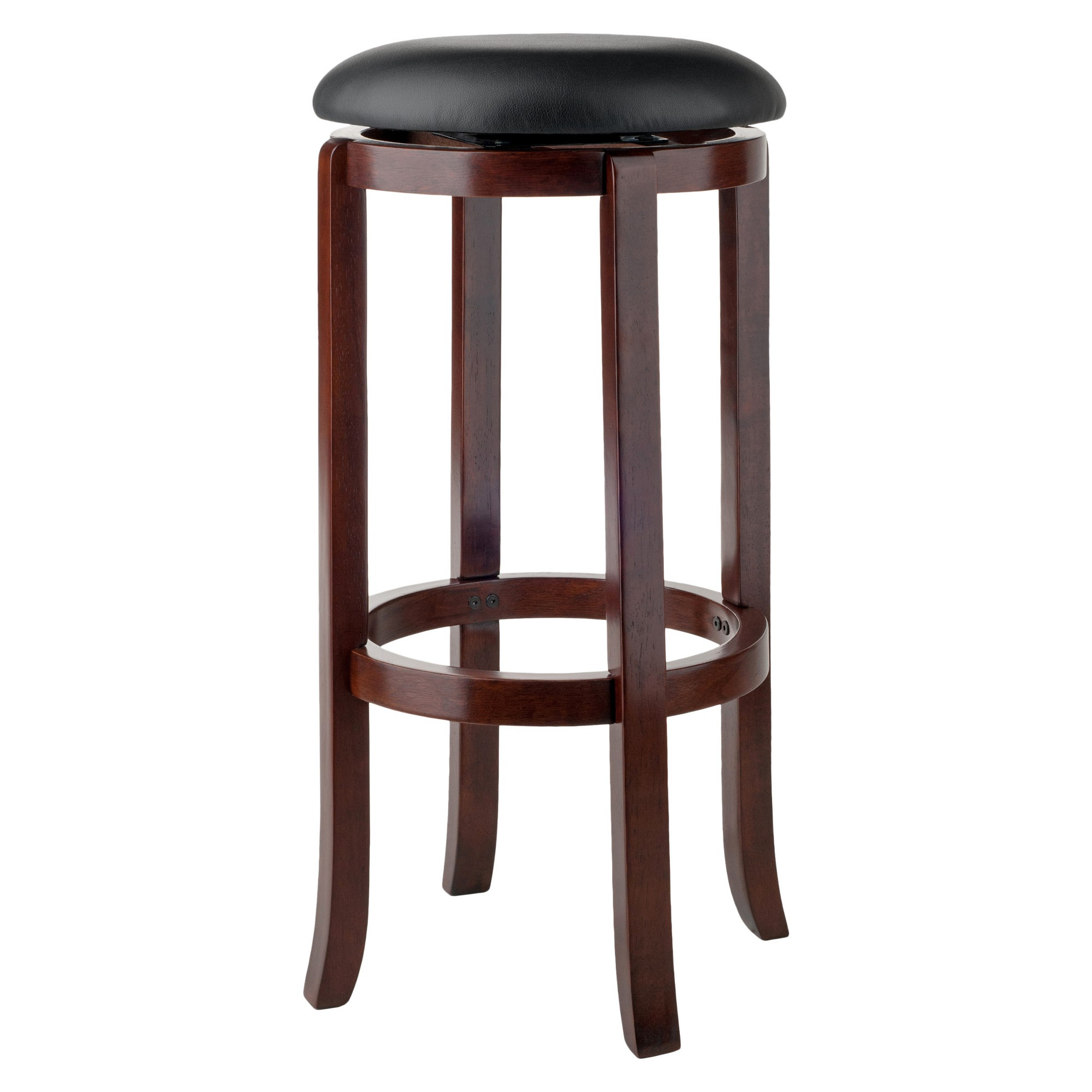 Admirable 30 Walcott Swivel Bar Stools Walnut Winsome Products Pdpeps Interior Chair Design Pdpepsorg