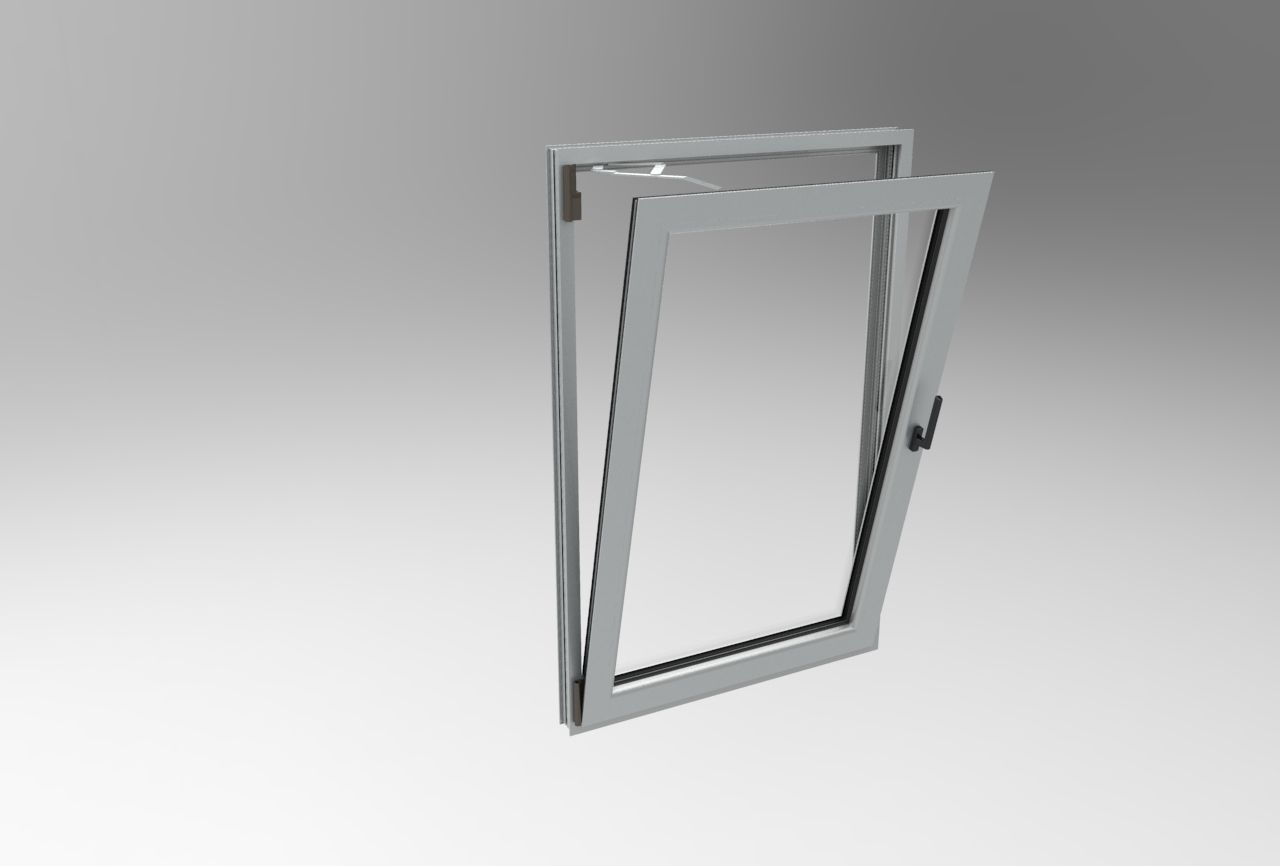 thermal break aluminum tilt and turn window