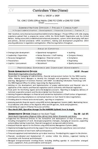 Administration Officer Sample Resume Admin Project Consultant Cv And.cv Templates  Pinterest  Cv .