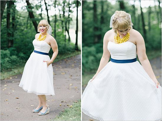 retro bridal looks